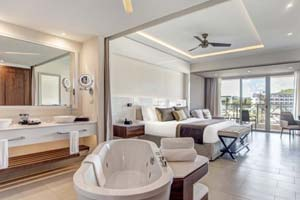 Luxury Junior Suite Ocean View - Hideaway at Royalton Saint Lucia Resort & Spa - All Incusive - St Lucia